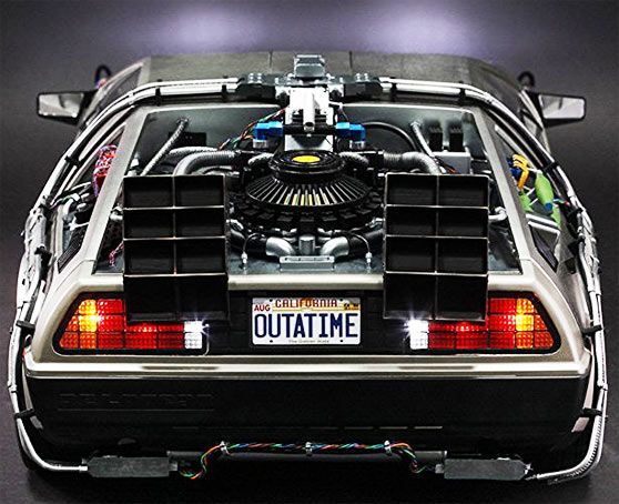 miniature collector voiture delorean retour vers le futur back to the future. Black Bedroom Furniture Sets. Home Design Ideas