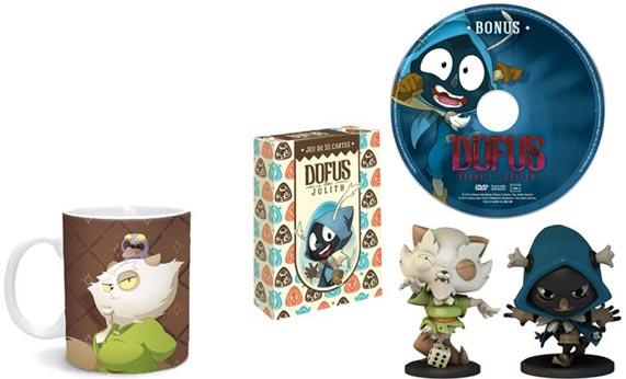 Dofus coffret collector blu ray dvd jeux vid o dessin for Dofus le jeu