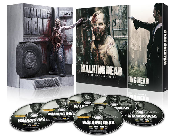 walking dead coffret int grale coffret collector saison 1 8 steelbook. Black Bedroom Furniture Sets. Home Design Ideas