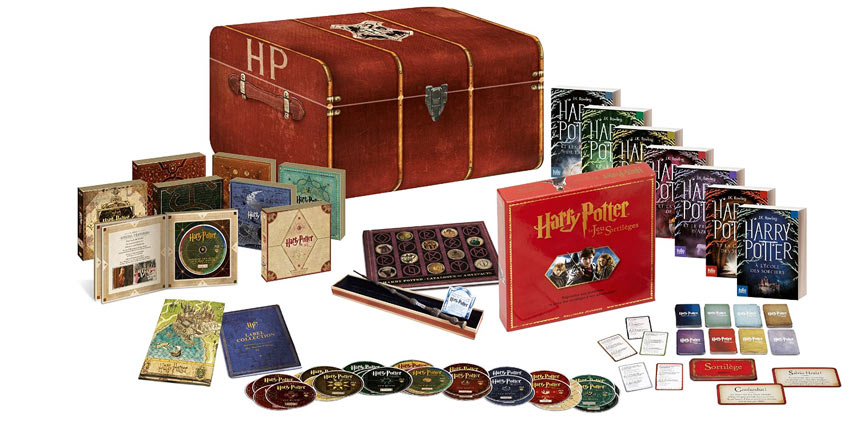 harry potter steelbook int grale films livres coffret collector limit e 4k. Black Bedroom Furniture Sets. Home Design Ideas