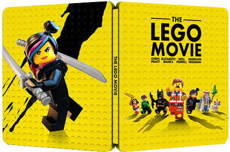 la grande aventure lego steelbook coffret collector blu ray 3d 2d dvd. Black Bedroom Furniture Sets. Home Design Ideas