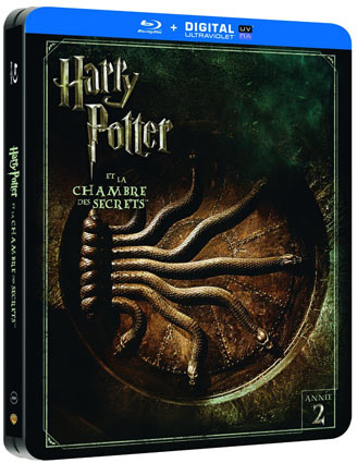 Harry potter steelbook int grale films livres coffret - Harry potter et la chambre des secrets streaming hd ...