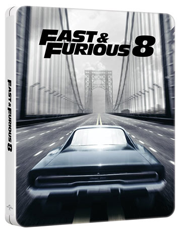 fast furious 8 blu ray dvd 4k steelbook collector. Black Bedroom Furniture Sets. Home Design Ideas