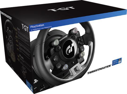 volant thrustmaster t gt 2017 ps4 gran turismo. Black Bedroom Furniture Sets. Home Design Ideas