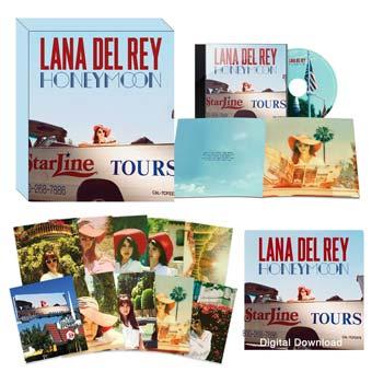 Lana Del Rey Honeymoon Coffret Collector Limit 233 Cd Et Vinyle