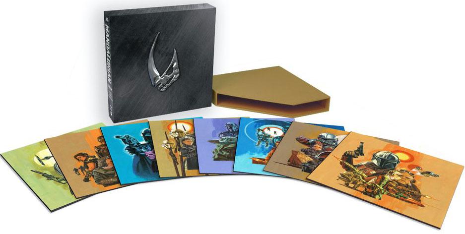 coffret integrale mandalorian Vinyle LP season saison edition collector mondo