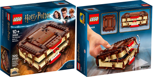 livre lego harry potter modele hors collection rare