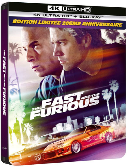 Fast and furious steelbook blu ray 4k ultra hd uhd