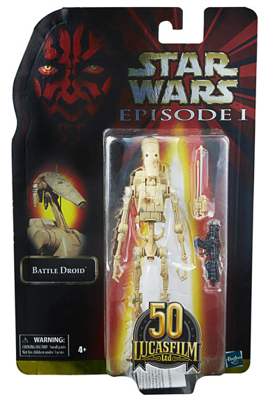 Figurine Droide menace fantome Hasbro Star Wars Black Series Lucasfilm 50