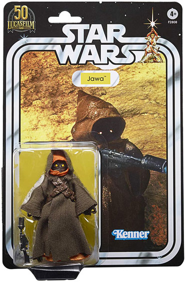 Jawa star wars figure Kenner black series 50 lucasfilm 50th anniversary