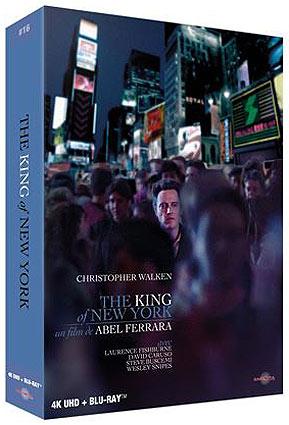 King of new york Blu ray 4K Ultra HD coffret collector steelbook