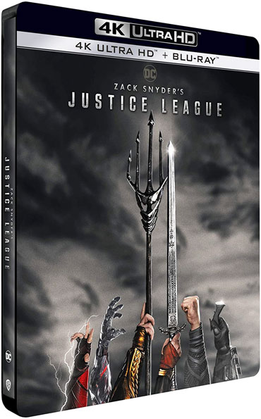 Steelbook collector justice league version longue directors cut Blu ray 4K Ultra HD