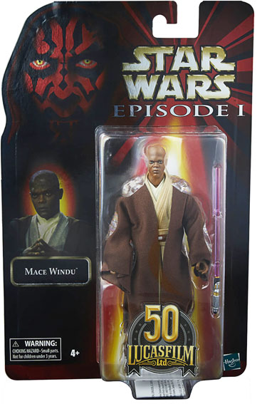 collection 50 Lucasfilm Hasbro Star Wars Black Series windu figurine