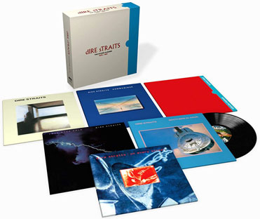 dire straits lp integrale studio album