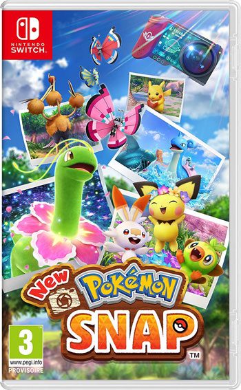 Pokemon Snap nintendo switch 2021 nouveau jeu pokemon