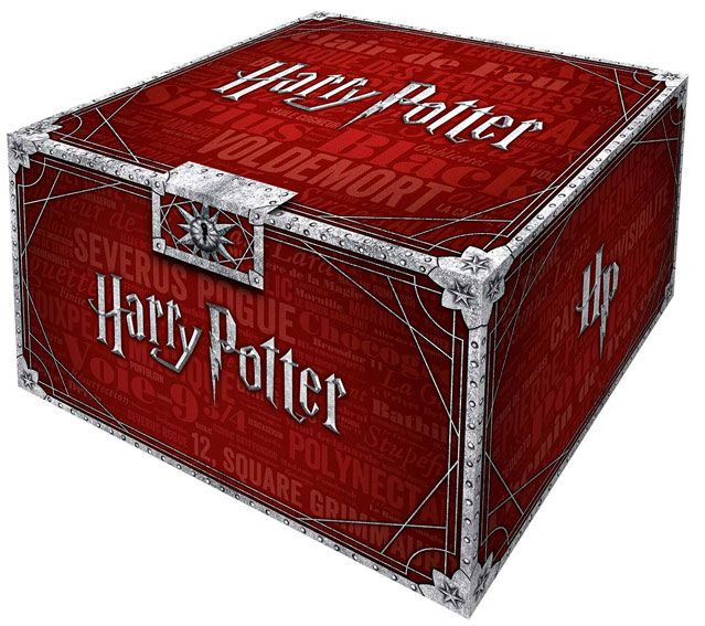 Integrale harry potter coffret livre