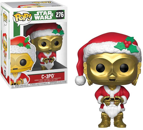 C 3PO robot star wars noel funko pop figurine