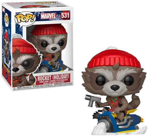 Funko pop rocket gardien galaxie noel holiday
