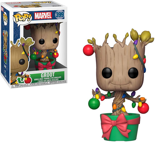 Groot figurine holiday noel christmas