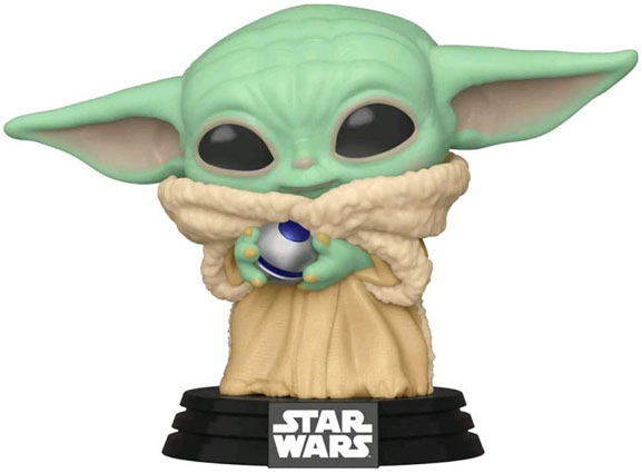 Baby Yoda figurine funko pop exclusive edition