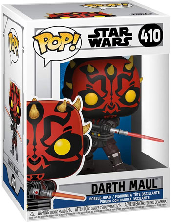 Funko pop figurine star wars dark maul darth maul