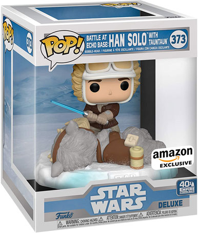 Funko pop han solo edition exclusive speciale 40th anniversary