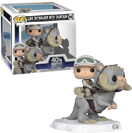Funko pop luke taun taun 40th empire strikes back