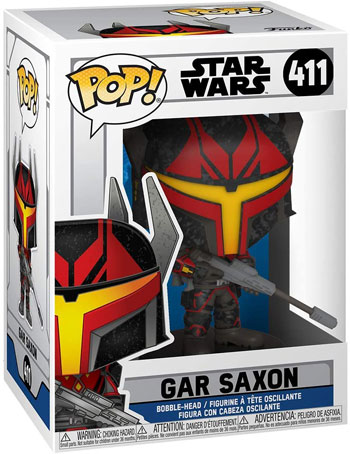 Funko pop star wars gar saxon clone wars