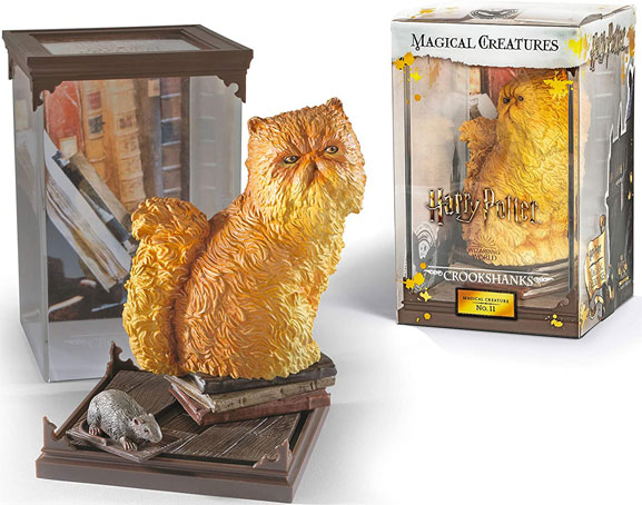 Noble collection harry potter figurine chat crookshanks