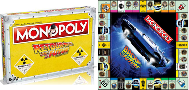 monopoly edition back to the future