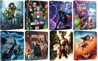 0 steelbook 4k dccomics edition