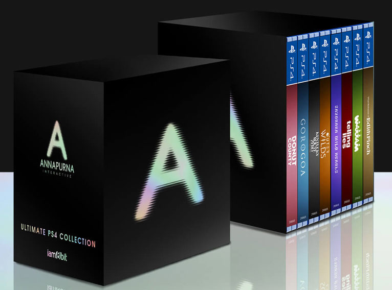 annapurna Ultimate PS4 Collection steelbook collector coffret box