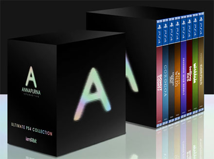 compilation jeux video ps4 coffret collector 2020