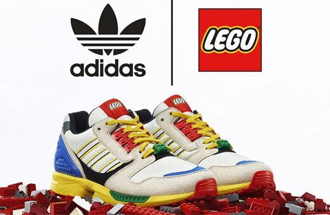 lego adidas sneakers zx
