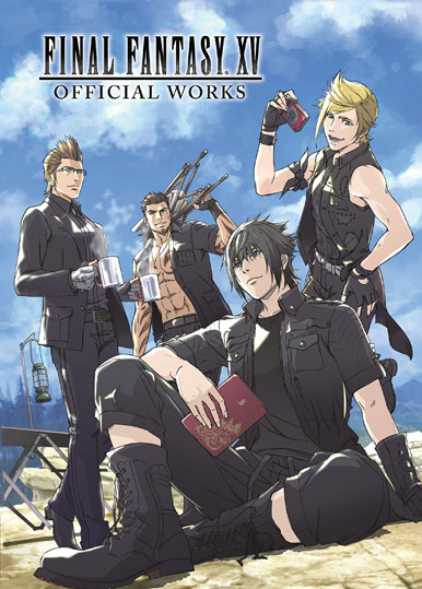 Final Fantasy XV official Works artbook livre deluxe