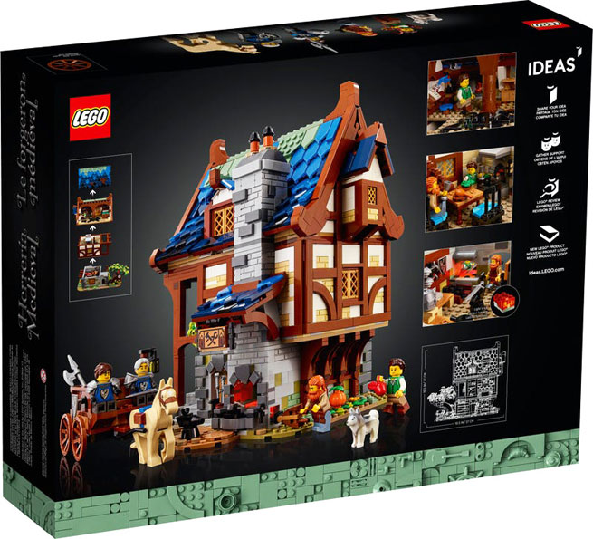collection lego ideas medieval blacksmith moyen age