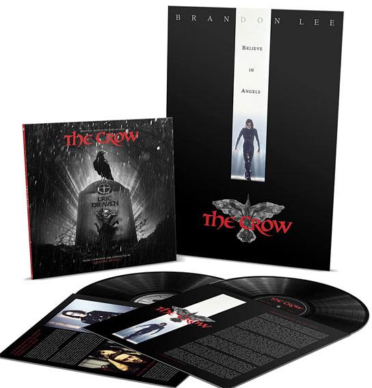 The Crow double vinyle lp ost soundtrack bande originale bo