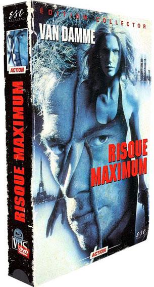 Risque maximum van damme blu ray DVD editino collector limitee vhs