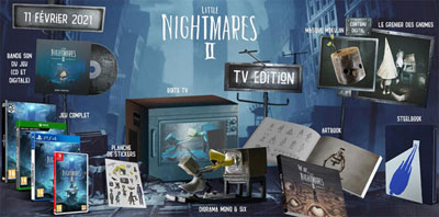 0 jeu collector little nightmare