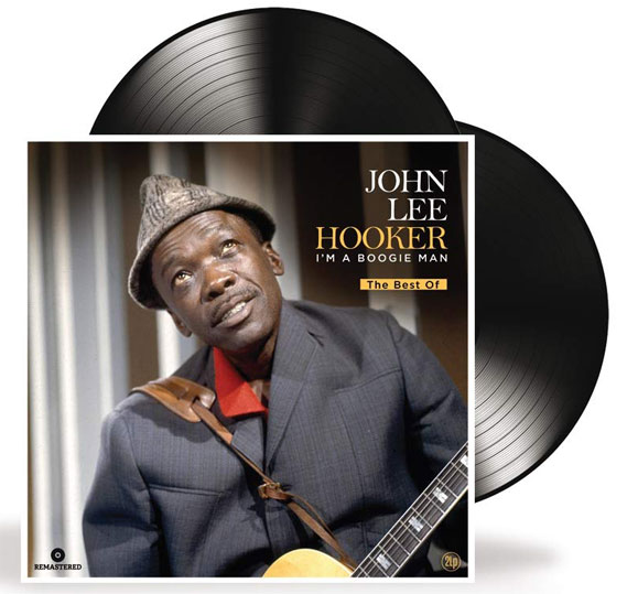 John lee hooker double vinyle lp collector 2lp i am boogie man best of greatest hits