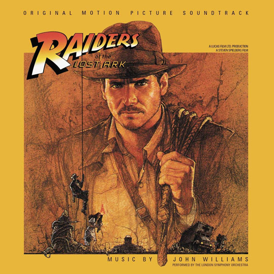 Indiana Jones OST Soundtrack vinyl bande originale LP 2LP raiders of the lost ark