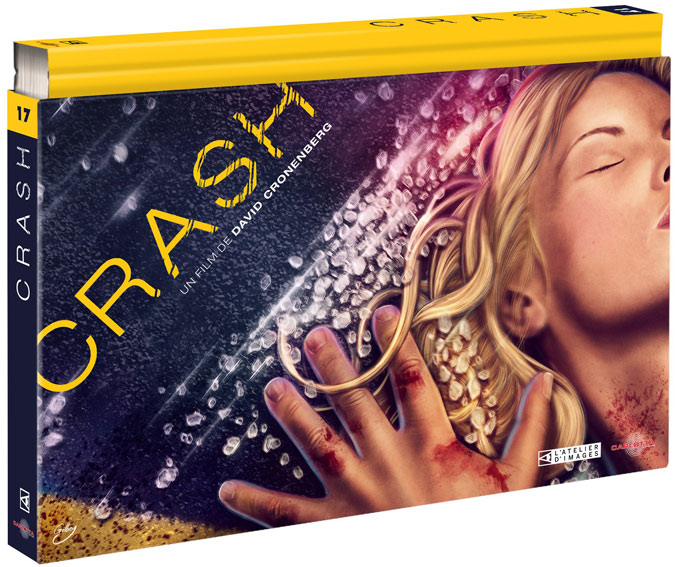 Crash Coffret collector Carlotta Blu ray DVD