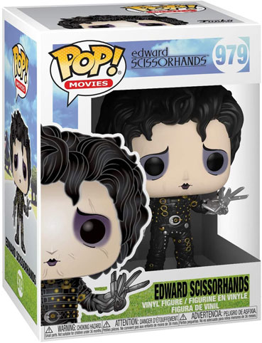 Funko pop edward main argent tim burton collection