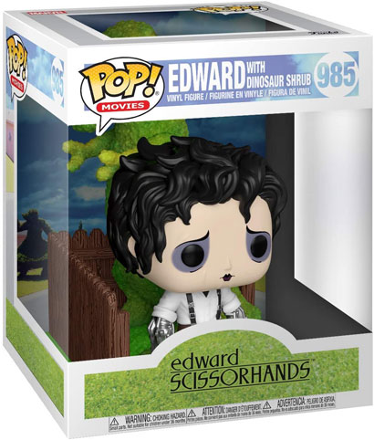 Funko pop figurien edward au main argent scissorhands