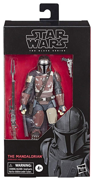 Black series mandalorian figurine star wars