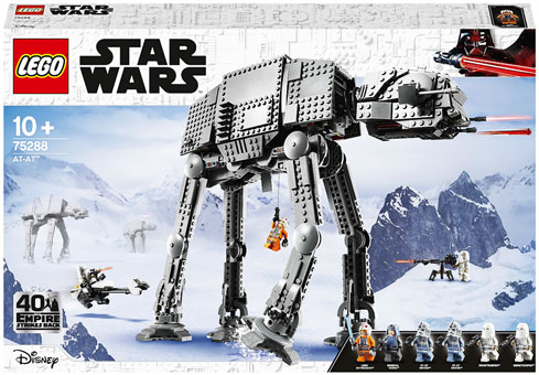 nouvell collection de lego star wars 40th anniversary empire strike back