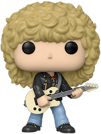 funko pop figurine def lepards rocks rick savage