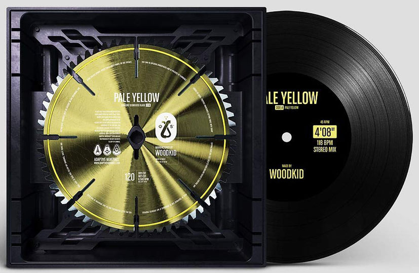 Pale Yellow Woodkid edition limitee Vinyle LP single 2020
