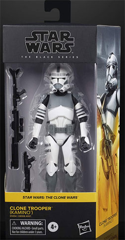 Star Wars Black Series figurines clnoe trooper soldat clone