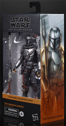 figurine mandalorian black series